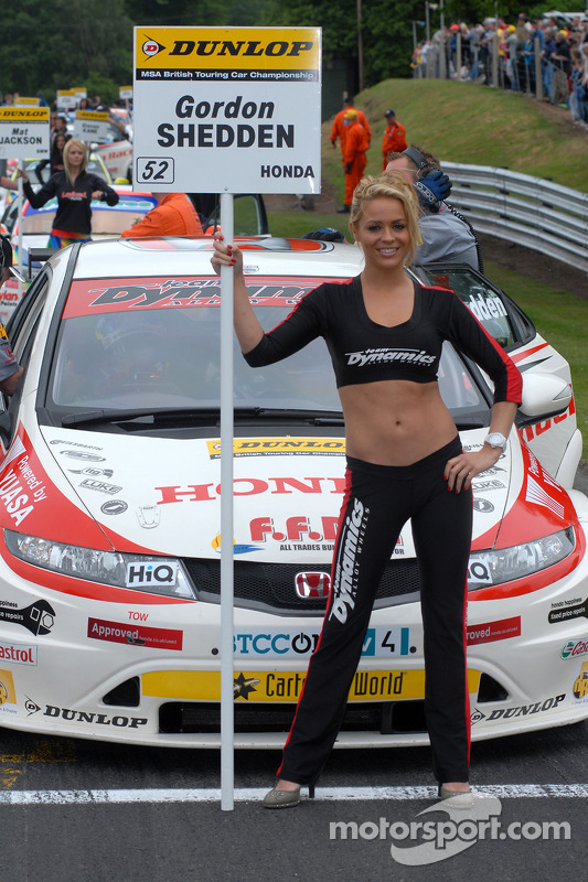 Grid Girl de Gordon Shedden