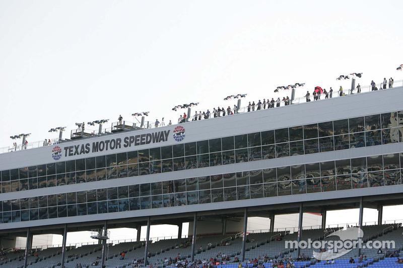 Zonsondergang Texas Motor Speedway
