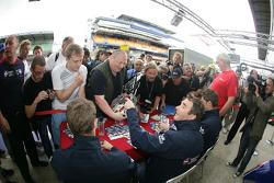 Nigel Mansell, Greg Mansell, Leo Mansell