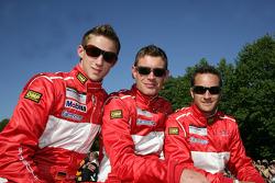 Marco Holzer, Richard Westbrook and Timo Scheider