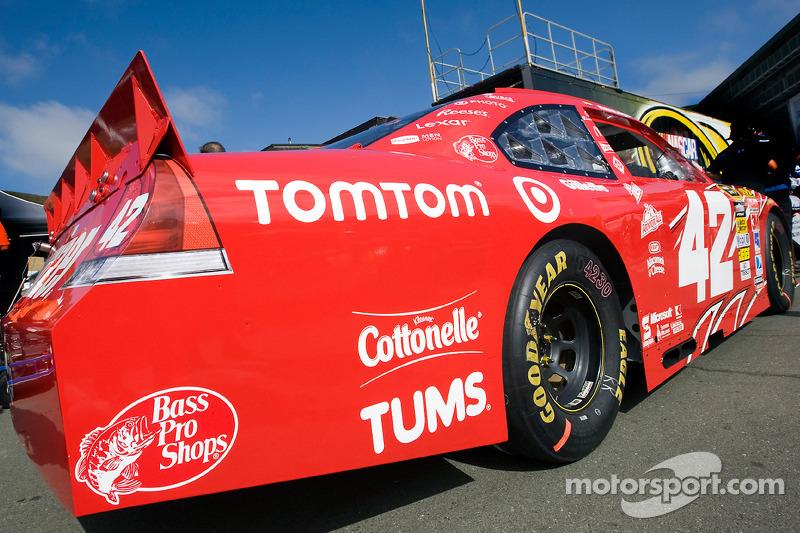Auto van Juan Pablo Montoya, Earnhardt Ganassi Racing Chevrolet