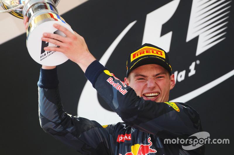 Max Verstappen, Red Bull, 2º