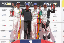 Race 3 podium: winner #4 Oregon Team Renault RS01: Team Bruno Bonifacio, second place #5 Oregon Team Renault RS01: David Fumanelli, third place #3 R-ace GP Racing Renault RS01: Kevin Korjus