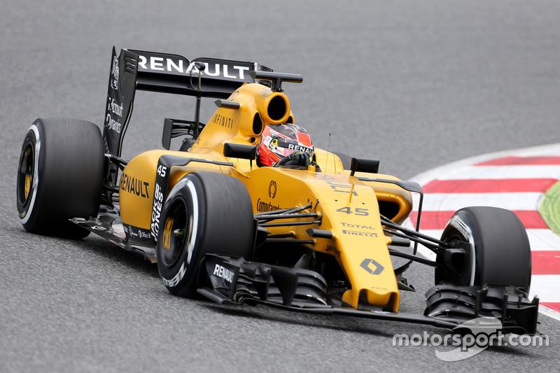 Esteban Ocon Tercer piloto, Renault Sport F1 Team