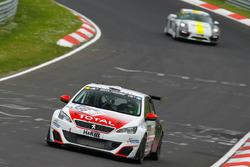 Grégoire Demoustier, Jürgen Nett, Michael Bohrer, Loeb Racing, Peugeot 308 Racing Cup