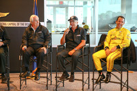 Roger Penske, Rick Mears und Helio Castroneves