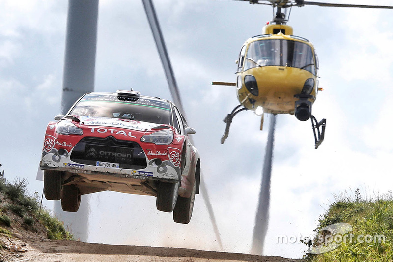 Крис Мик и Пол Нэгл, Citroën DS3 WRC, Abu Dhabi Total World Rally Team