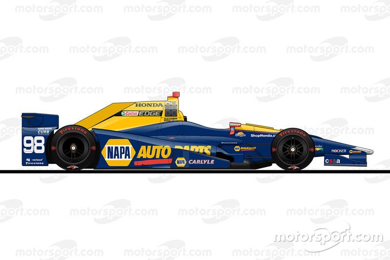 Startposition 11: Alexander Rossi (Herta/Andretti-Honda)