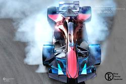 Formel-1-Designstudie für Alfa Romeo