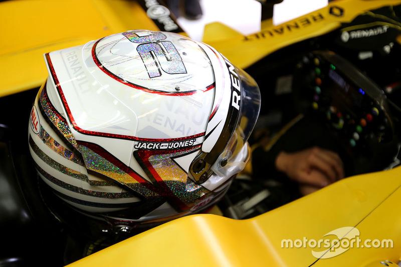 Шлем Кевина Магнуссена на Гран При Монако