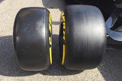 Vergleich der Formel-1-Reifen von Pirelli 2016/2017