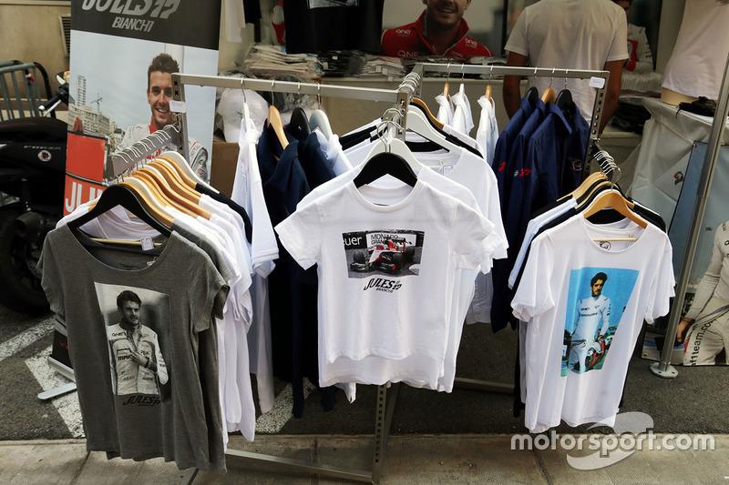 Merchandise: Jules Bianchi