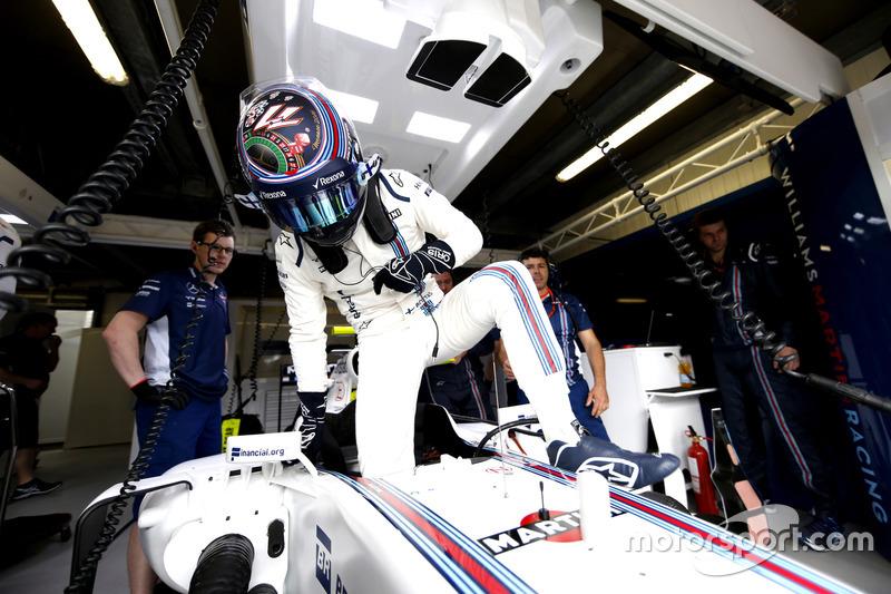 Валттери Боттас также подготовился к гонке в Монте-Карло