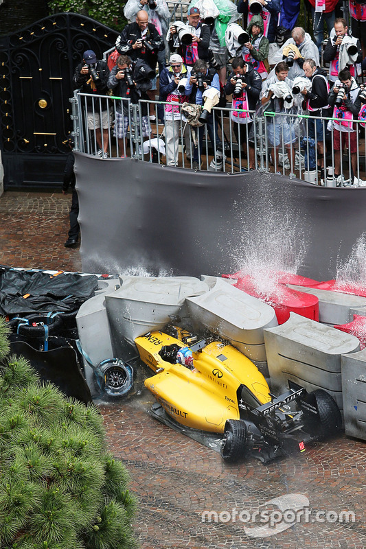 5. Accidente de Jolyon Palmer, Renault Sport F1 Team RS16