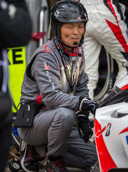 Mechaniker von Toyota Gazoo Racing