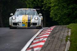 #64 Black Falcon Team TMD Friction, Porsche 991 GT3 Cup: Arturo Devigus, Andreas Weishaupt, Alexander Josef Boquoi Toril, Hannes Plesse