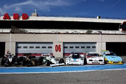 McLaren MP4-16; Lotus F1; Williams F1; Porsche 956; Ford Grand Am; Porsche