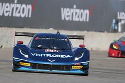 #90 VisitFlorida.com Racing Corvette DP: Marc Goossens, Ryan Dalziel