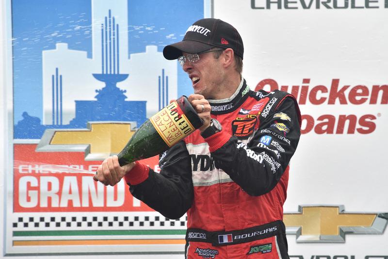 Ganador de la carrera Sébastien Bourdais, KV Racing Technology Chevrolet