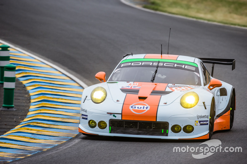 LMGTE Am: #86 Gulf Racing, Porsche 911 RSR