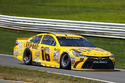 Kyle Busch, Joe Gibbs Racing Toyota, nach seinem Crash