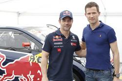 Sテゥbastien Loeb, Team Peugeot Hansen dan Sテゥbastien Ogier, Volkswagen Motorsport