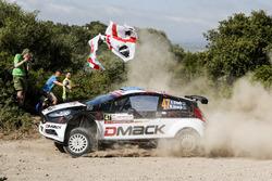 Sander Parn, Martin Jarveoja, Drive DMACK Trpohhy Team, Ford Fiesta R5