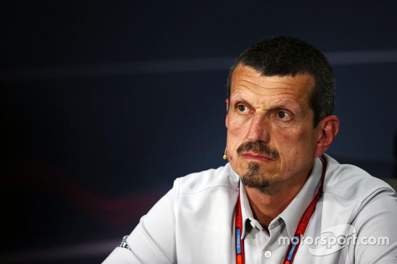 Гюнтер Штайнер, руководитель Haas F1 Team на пресс-конференции FIA