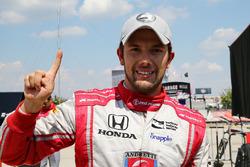 Володар поулу Карлос Муньос, Andretti Autosport Honda