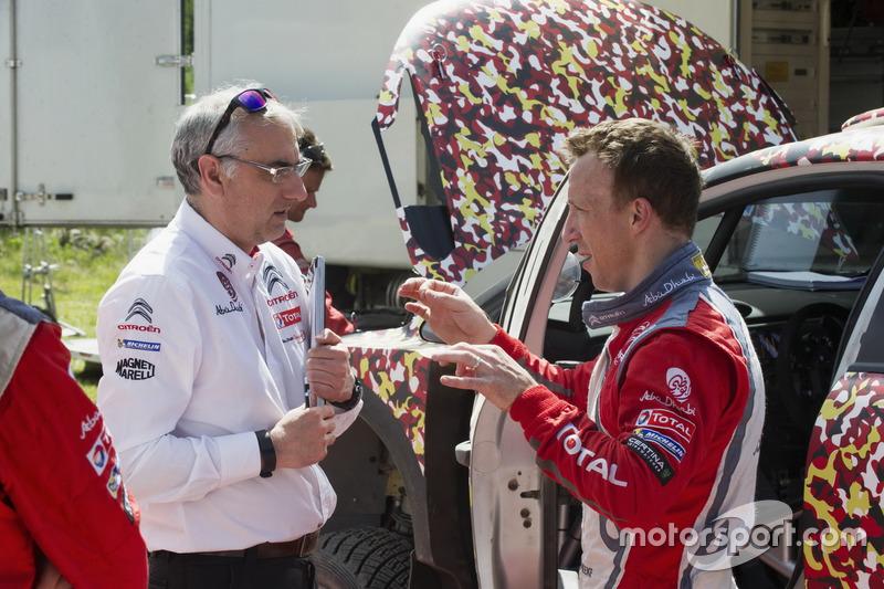 Кріс Мік за кермом Citroën C3 WRC 2017
