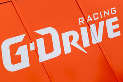 G-Drive Racing paddock area and logo