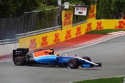 Ріо Харьянто, Manor Racing MRT05 аварія під час кваліфікації