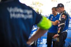 Jost Capito, Volkswagen Motorsport Director e Jari-Matti Latvala, Volkswagen Motorsport