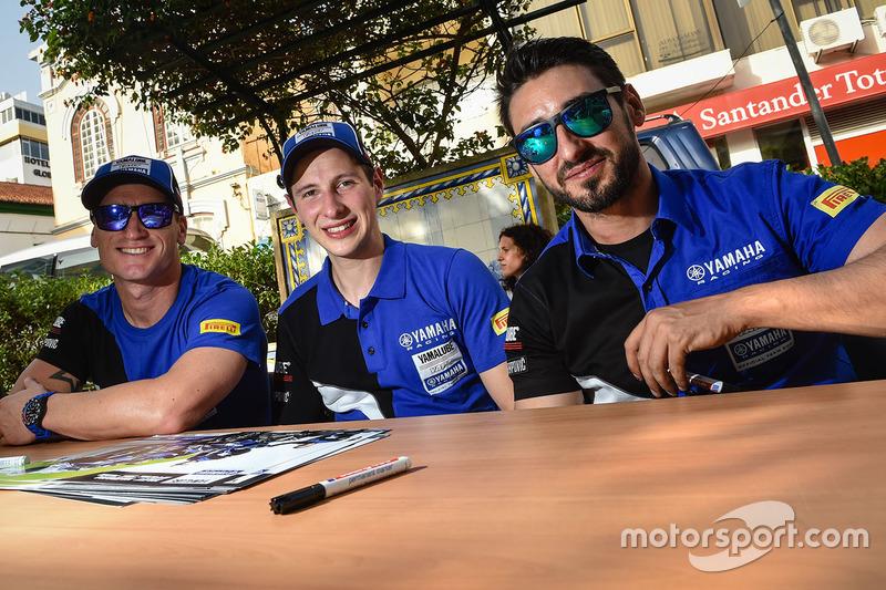 #7 YART Yamaha Official EWC Team: Broc Parkes, Marvin Fritz, Ivan Silva