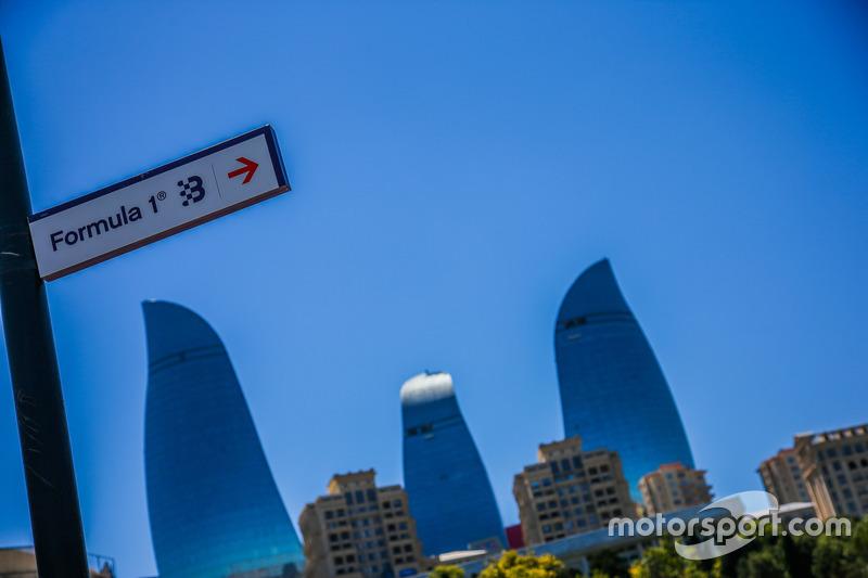 Vista general del Circuito de la ciudad de Bakú