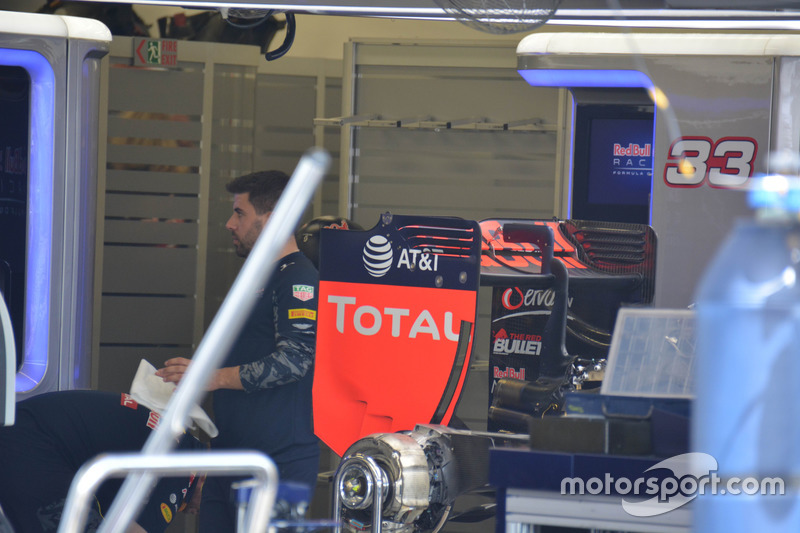 Detalle del Red Bull Racing RB12