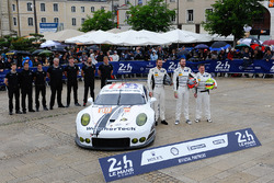 #89 Proton Competition Porsche 911 RSR: Купер Макніл, Лех Кін, Марк Міллер
