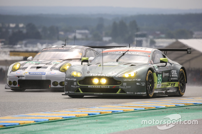 23e: #95 Aston Martin Racing Aston Martin Vantage: Nicki Thiim, Marco Sorensen, Darren Turner