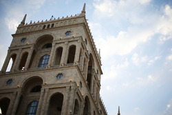 Vista escénica Bakú