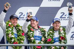 LMGT Pro podium: third place #69 Ford Chip Ganassi Racing Ford GT: Ryan Briscoe, Richard Westbrook, Scott Dixon