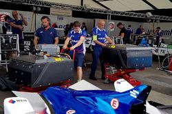 Pits van Amlin Andretti Formula E Team