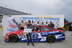 Polesitter Greg Biffle, Roush Fenway Racing, Ford