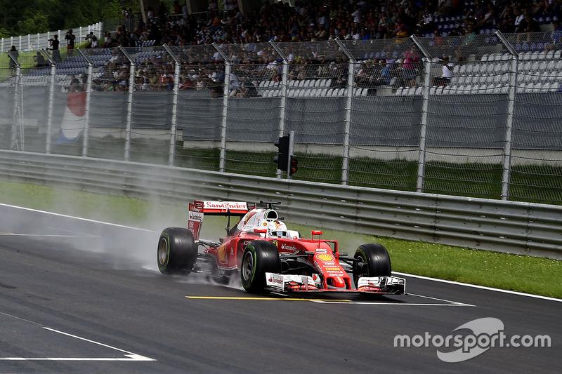 GP Austria 2016: ejemplo de un año en blanco