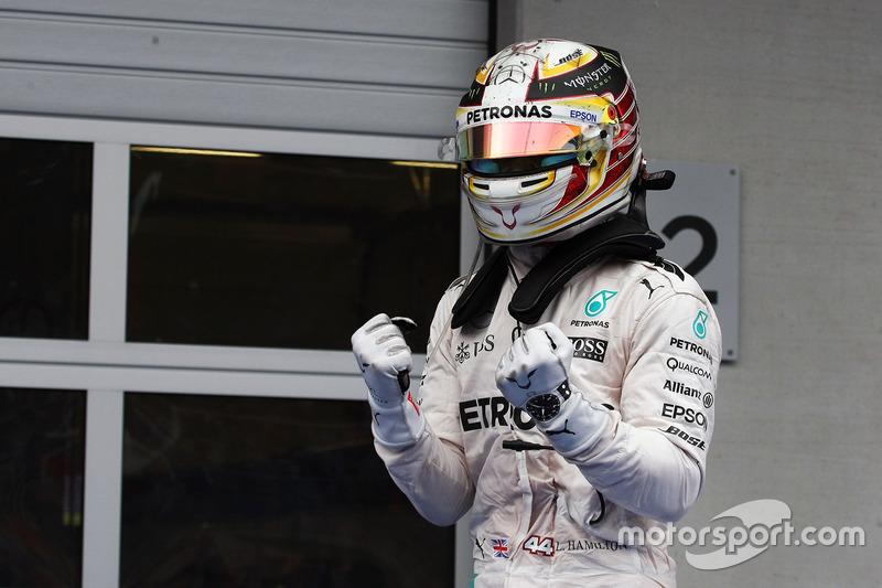 Vencedores: 10 - Lewis Hamilton; 9 - Nico Rosberg; 1 - Max Verstappen, Daniel Ricciardo