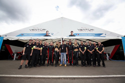Venturi Team Photo with Mike Conway, Venturi and Stéphane Sarrazin, Venturi