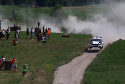 Мариус Осен и Вероника Энган, Drive DMACK Trophy Team, Ford Fiesta R5