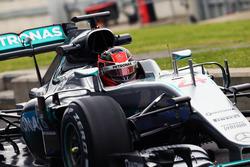 Esteban Ocon, Mercedes AMG F1 W07 Hybrid Test Pilotu