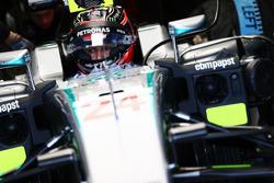 Esteban Ocon, testrijder Mercedes AMG F1 W07 Hybrid