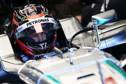 Естебан Окон, тест-пілот Mercedes AMG F1 W07 Hybrid