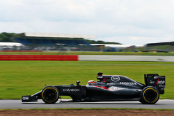 Stoffel Vandoorne, McLaren MP4-31, Testfahrer